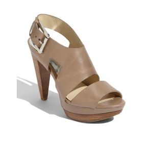 Michael Kors✌🏻nude heels